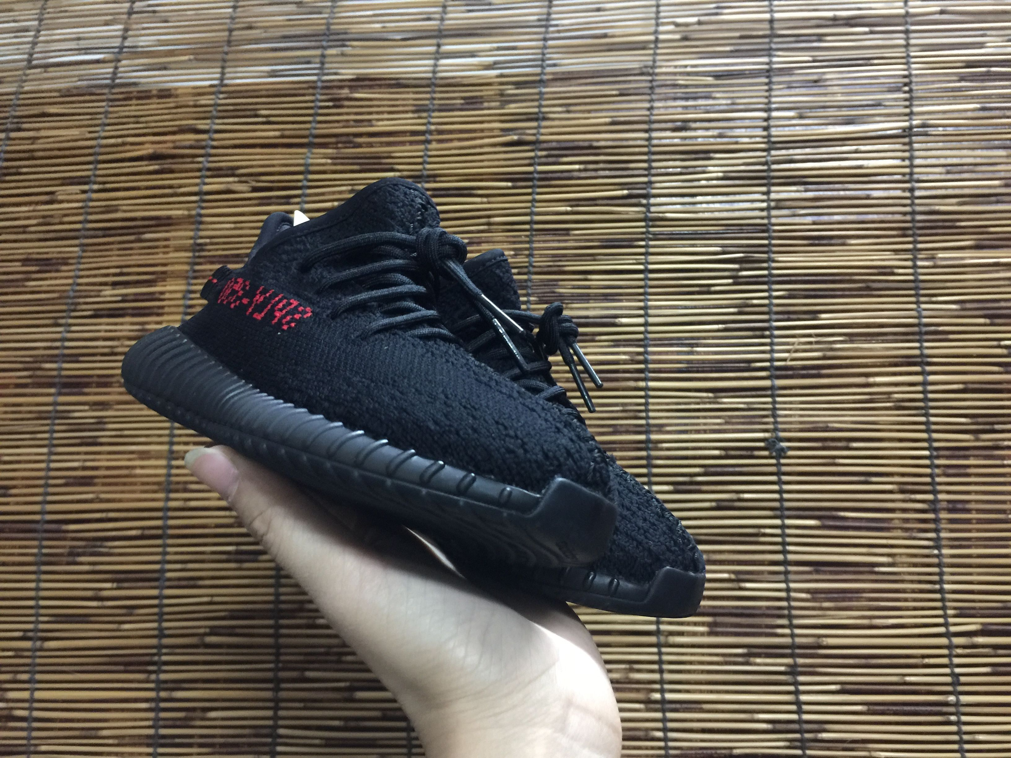 Best Originals Adidas Yeezy Boost 350 V2 Infant BlackRed