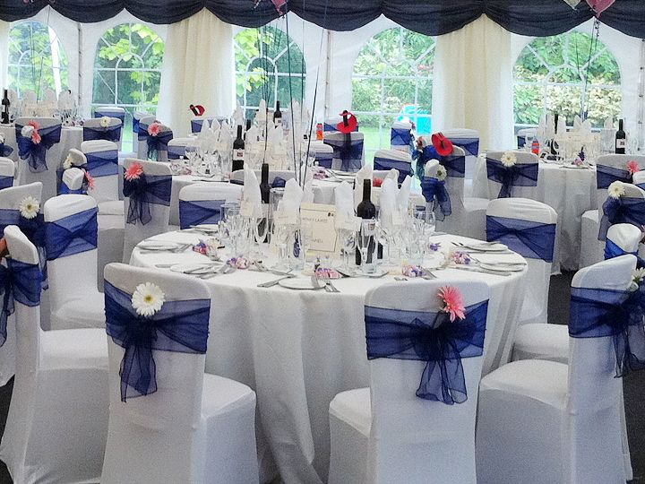 Simple Wedding Party Decorations : Wedding tent got information overload here are some simple