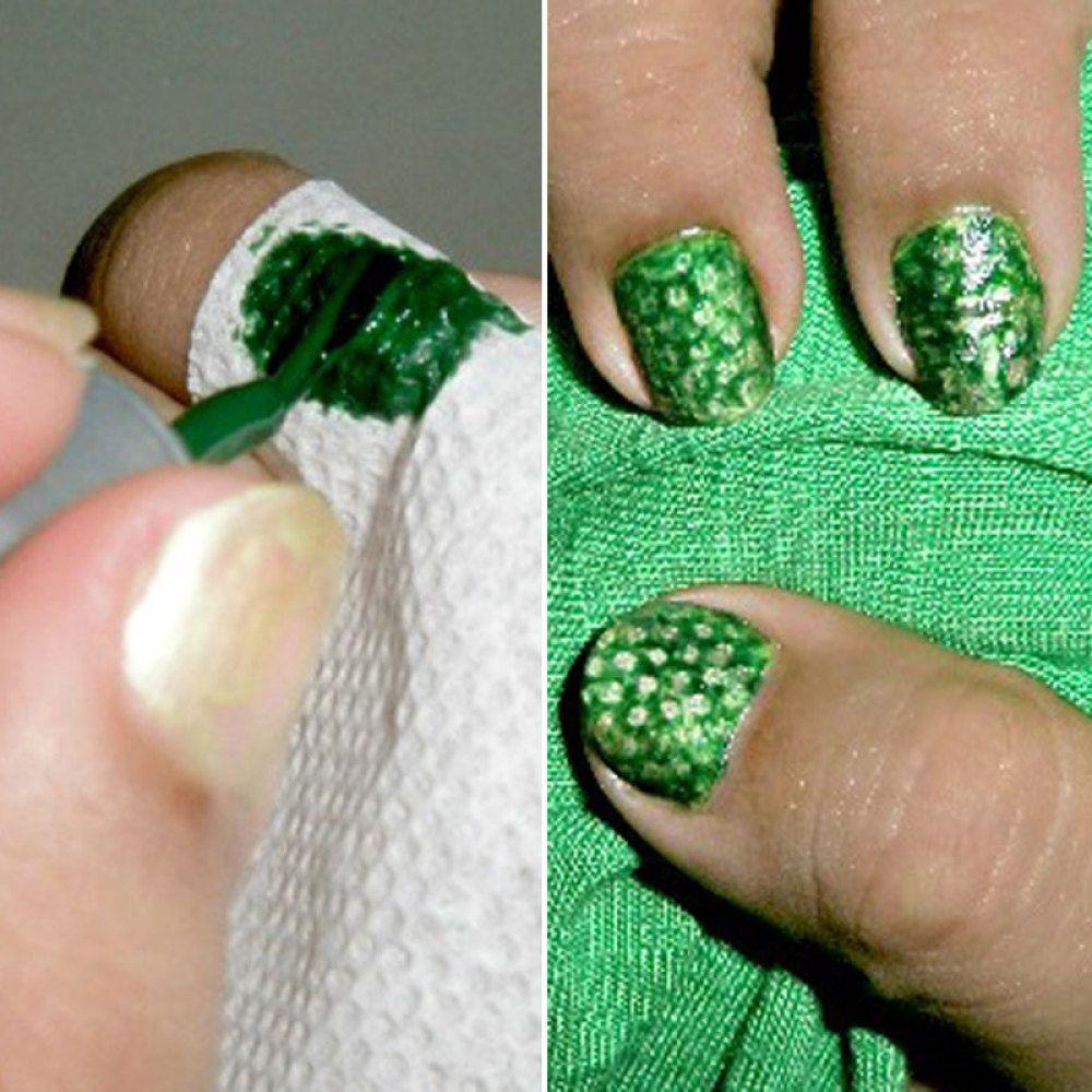 Do Your Nails With A Pencil Eraser Nail Art Hacks Nail Art Diy Diy Nails