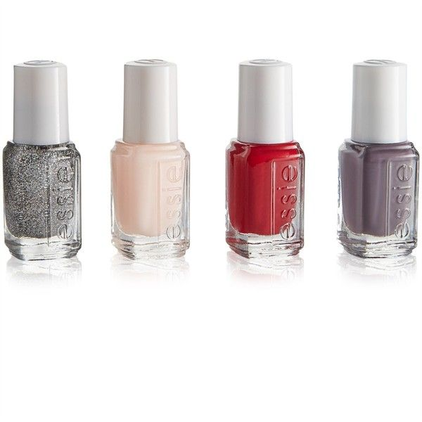 Essie Mini Nail Color Collection Set Of 4 9 99 Liked On Polyvore Featuring