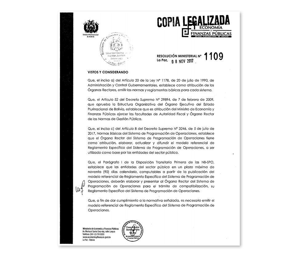 Ministerio de Economía y Finanzas Públicas de Bolivia | Ejecucion ...