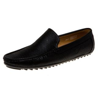 quentin ashford men's on the go premium driving shoes