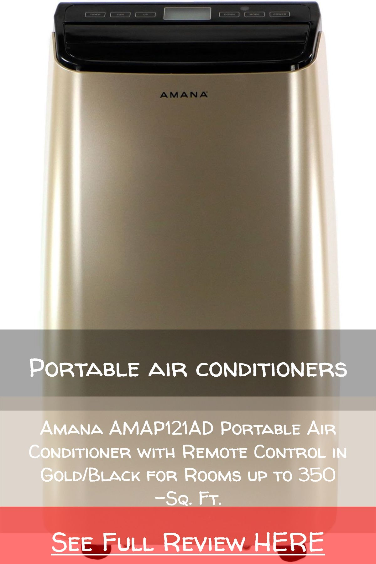 Portable air conditioners / Amana AMAP121AD Portable Air