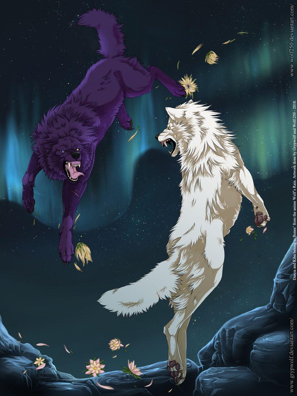 Darcia & Kiba Wolf's Rain Pinterest