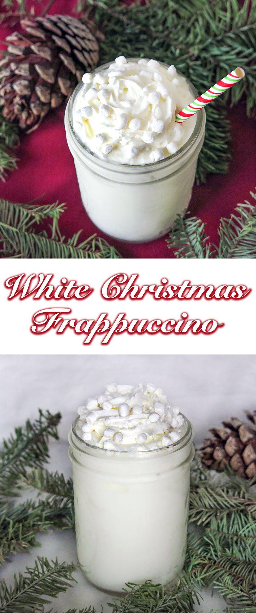 White Christmas Frappuccino Recipe Frappuccino recipe