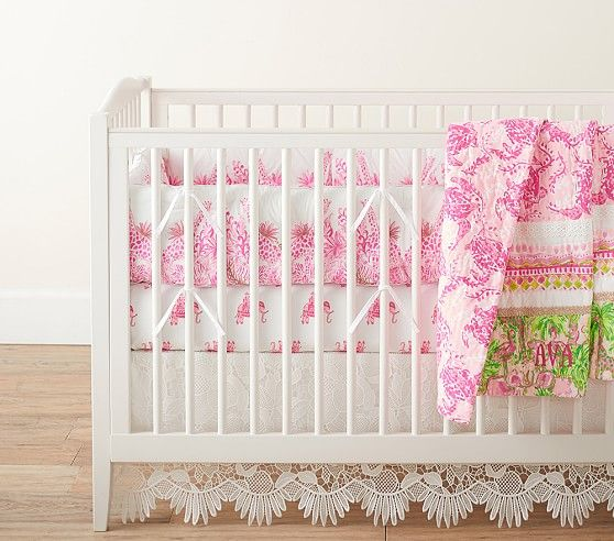 Lilly Pulitzer On Parade Baby Bedding Pottery Barn Baby