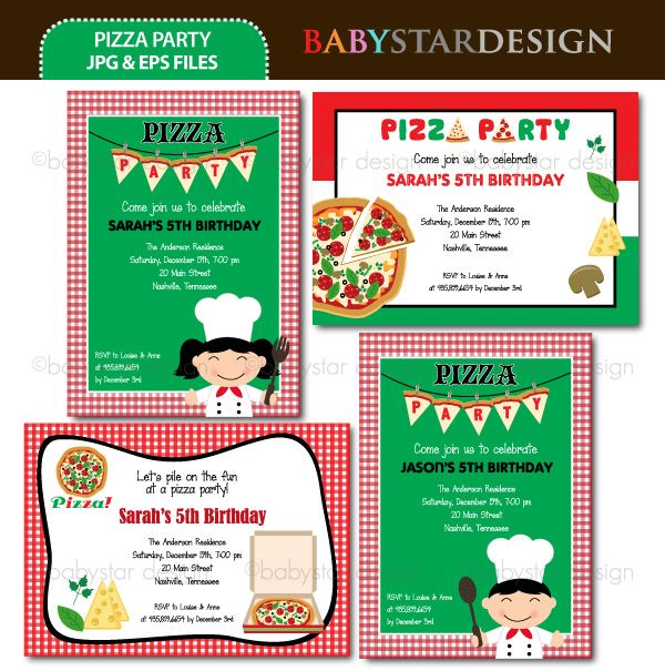 17 Best images about Pizza Party on Pinterest | Birthday party ...