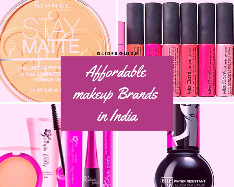 Affordable Makeup Brands In India Glide&Guide