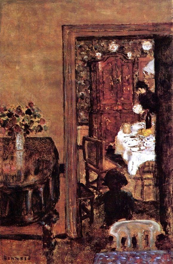 Interior pierre bonnard 1898 artists bonnard c 39 est for Pierre bonnard la fenetre ouverte