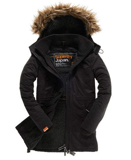 superdry womens hooded shirt
