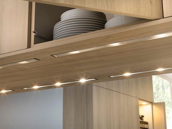Kitchen Cabinet Indirect Lighting Listrik