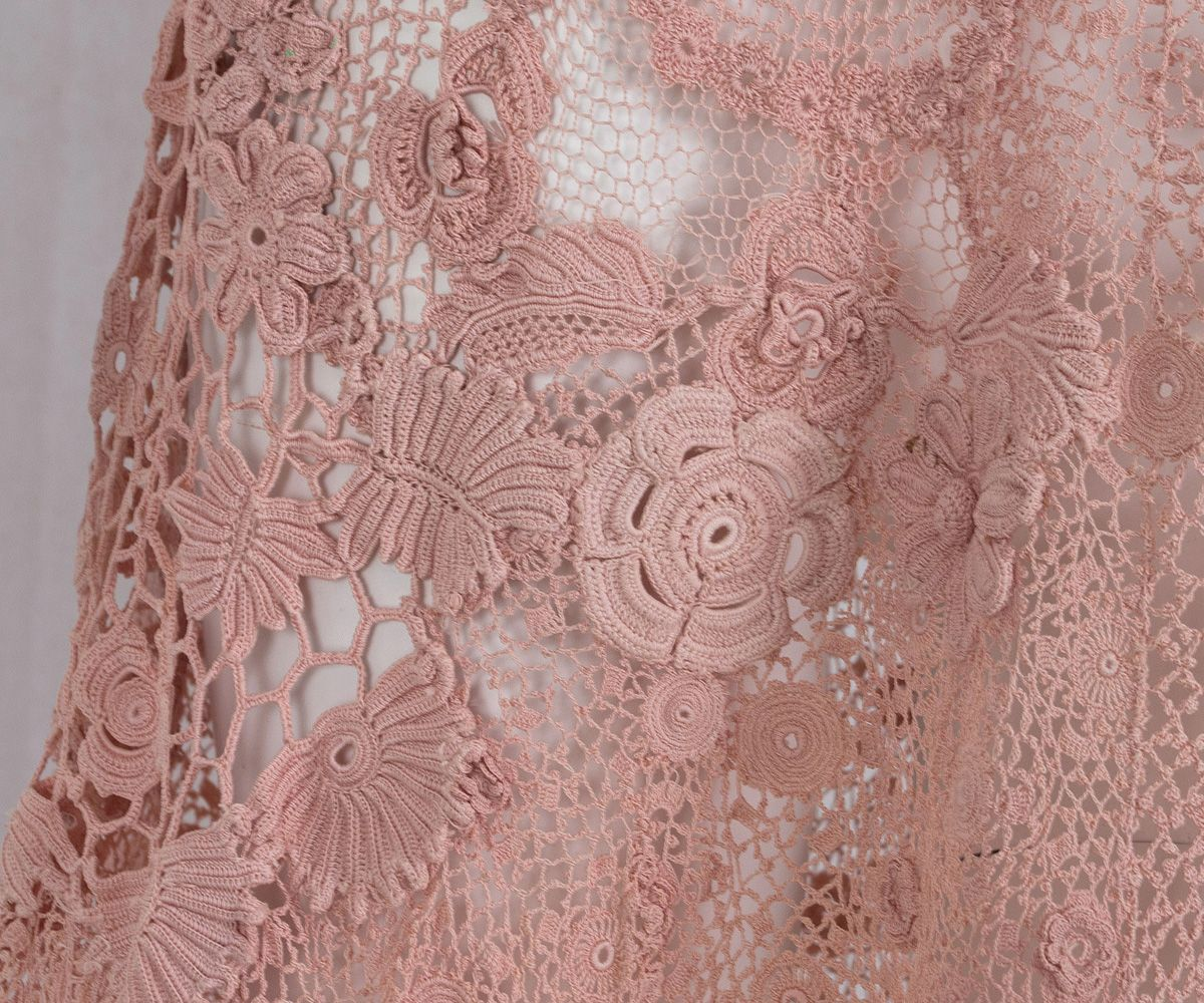 1930s Clothing at Vintage Textile: #2817 Irish lace dress | Irish ...