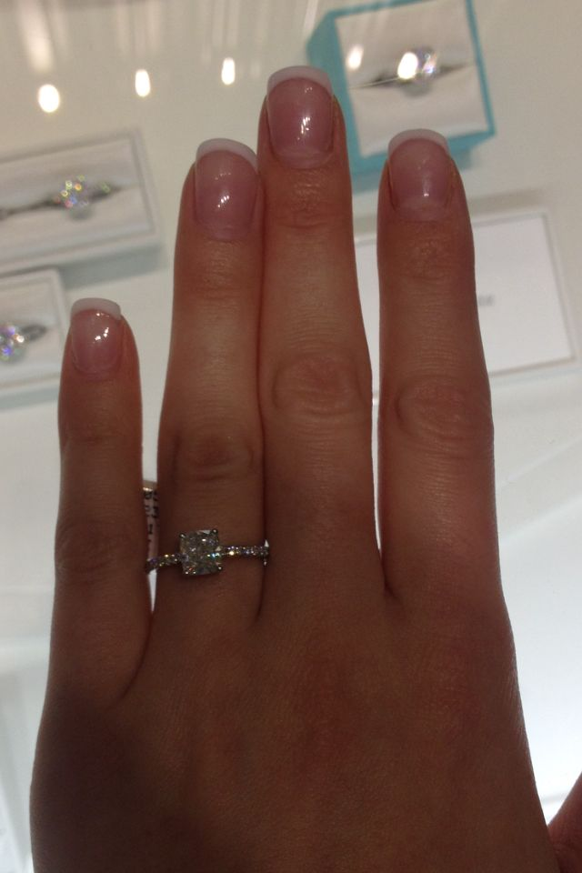 1 2 Carat Tiffany Novo My Dream Ring Perfect In Every Way