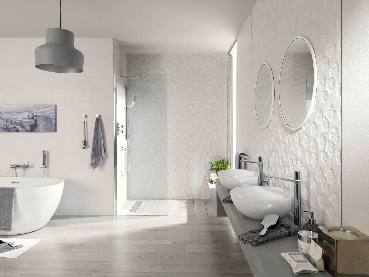 Ceramic wall tiles are one of the best choices for covering walls ...