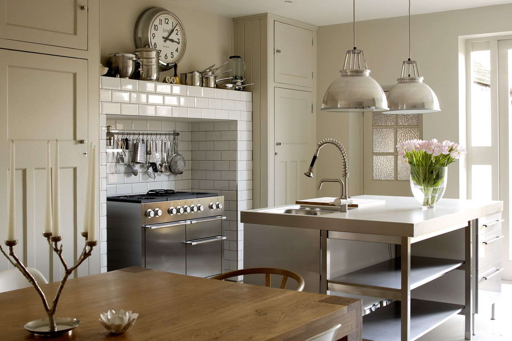 Ikea Küchensockel 1st Option 404 | Kitchen Design, Greige Kitchen, Rustic Modern Kitchen