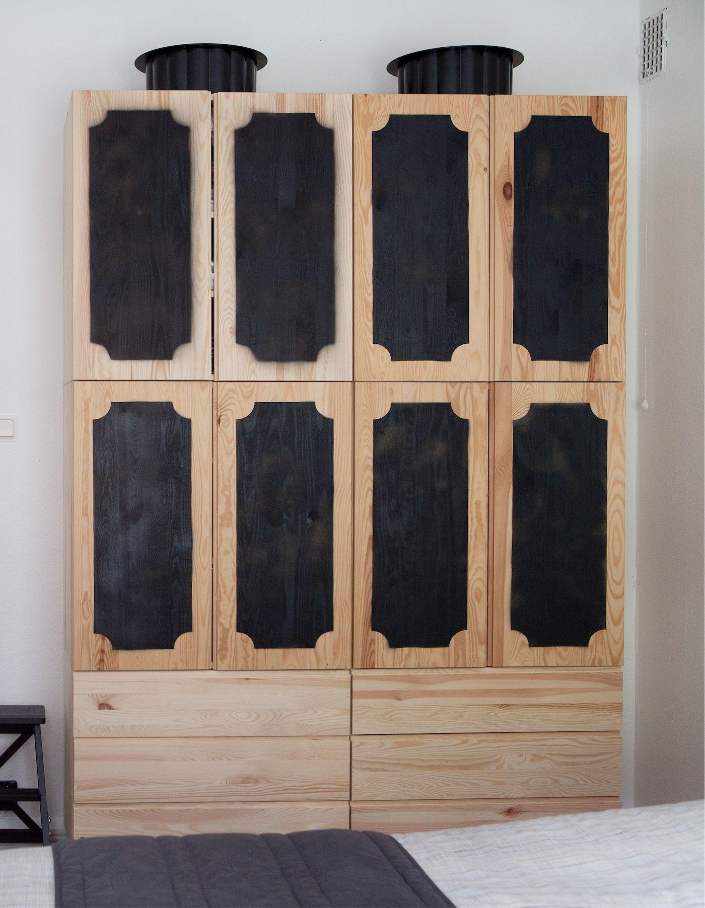 Ikea Ivar Schrank Mit Türen