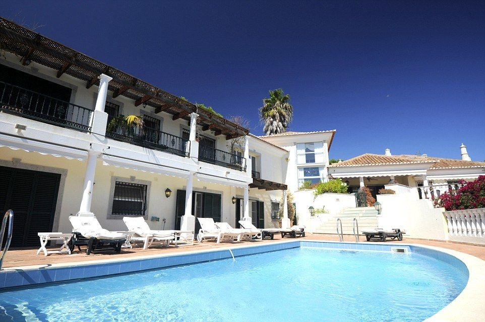 The Balcony And Swimming Pool Area Are Real Sun Traps In Banntyneu0027s Portugal  Escape Which Is