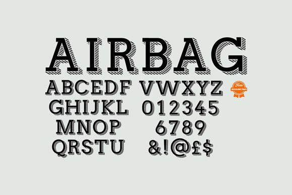 9 Free Fonts for your Delight: Langdon; Airbag; Lev Serif Handline; Mission Gothic; Mathlete; Krean; Ponsi Rounded; Marvel; Bellota;