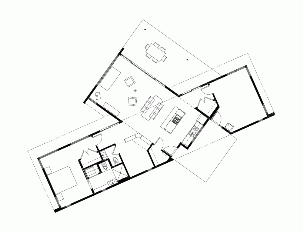 Gallery Of Ridge House Grid Architects 21 Grid Architects Architecture House How To Plan