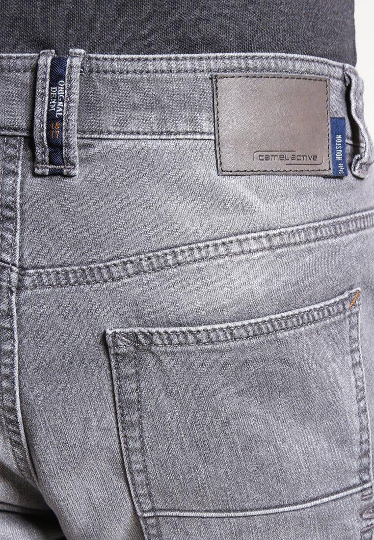 9ea42f0ece camel active HOUSTON - Straight leg jeans - grey - Zalando.co.uk ...
