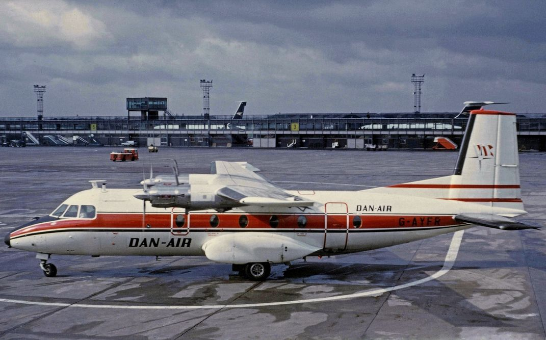 DanAir Nord 262A GAYFR DanAir operated this Nord 262