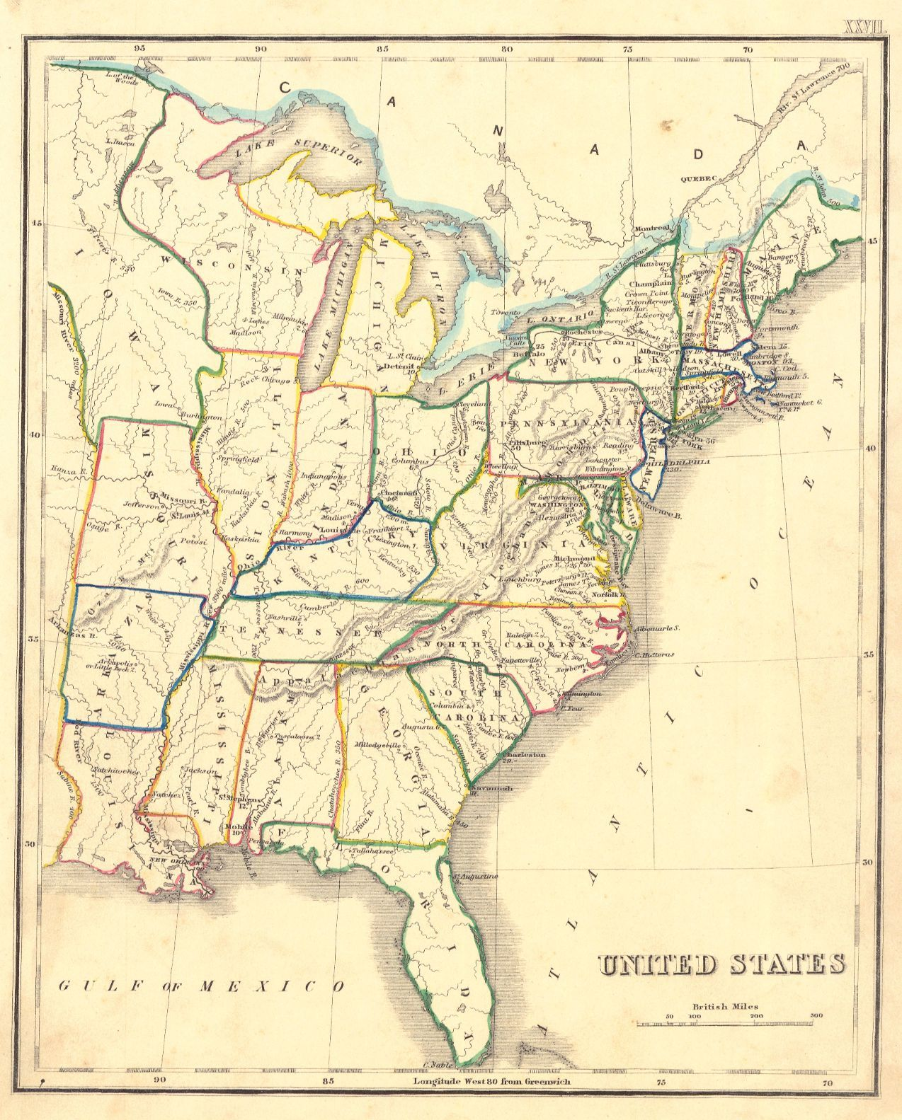 United States Anonymous C London Anonymous English School - United states map atlas