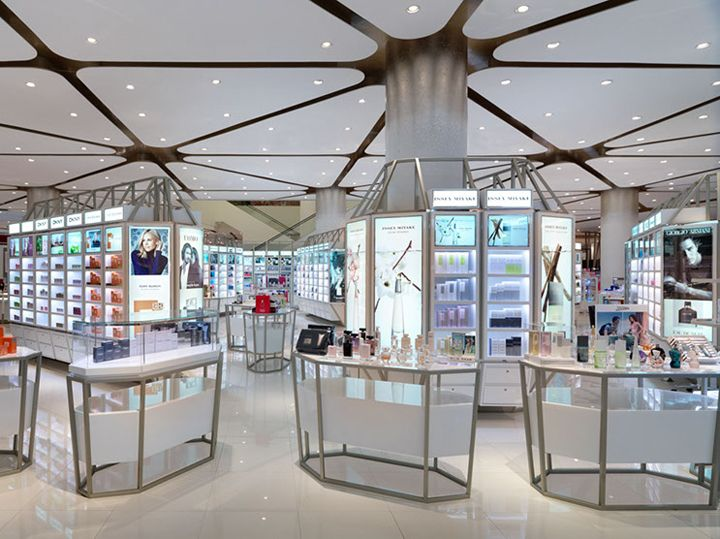 Siam paragon mall s beauty department store by hmkm for Interior design department