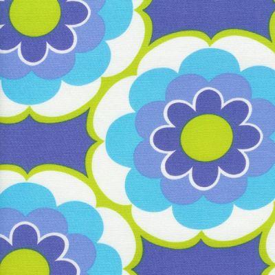 """""""Sunny Canvas Blue"""" aus der Kollektion """"Sunny Daze"""" von Alice Kennedy"""