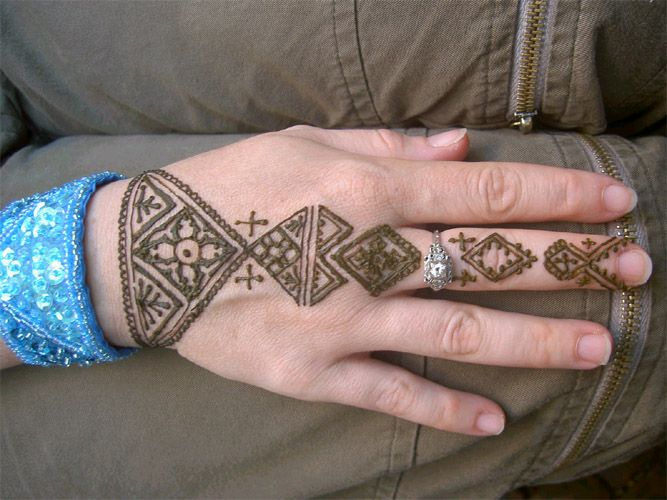 Simple Mehndi Tattoo Hands : Simple henna designs for hands combine find tattoos