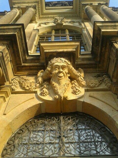 Palais Im Grossen Garten Lion Sculpture Art Dresden