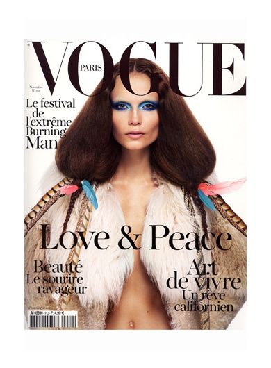 Couverture Vogue FR Novembre 2011
