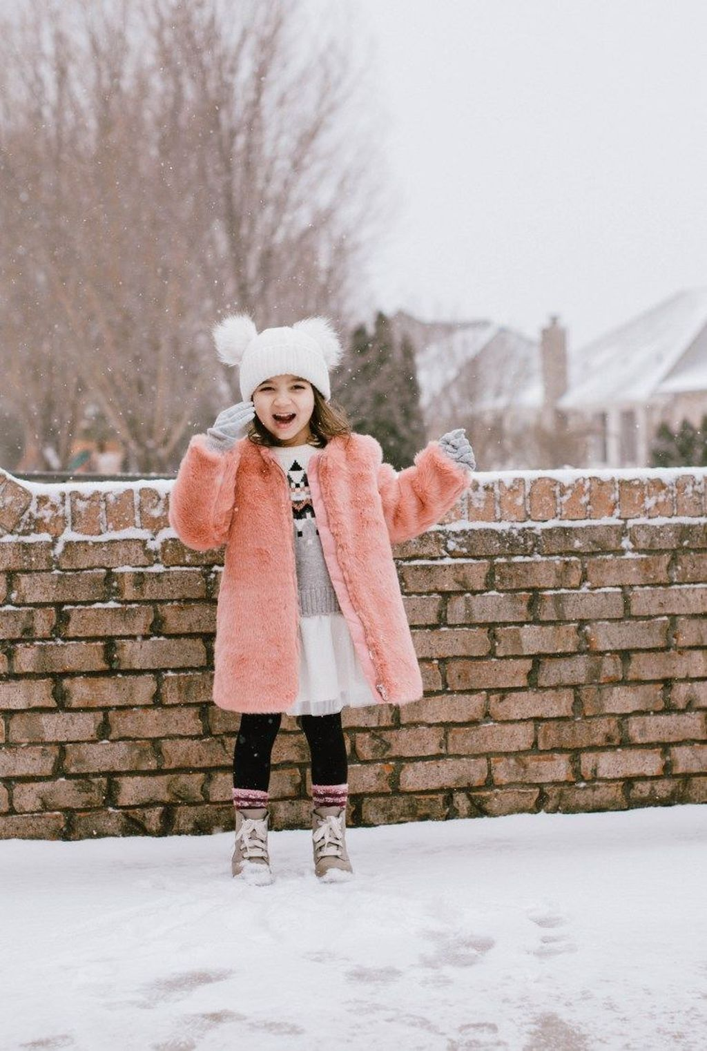 9fead35e8d306 30+ Affordable Little Girl Winter Outfits Ideas | Dress & Outfits ...