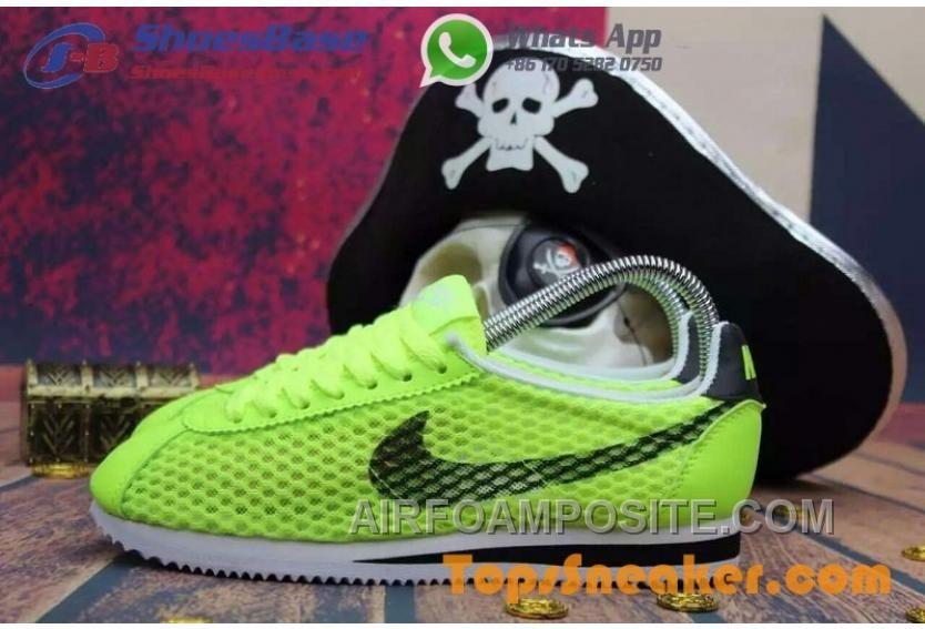 Buy Hot Sell Popular Womens Nike Cortez Mesh Yellow Black Jogging Shoes  Fashionable Top Deals from Reliable Hot Sell Popular Womens Nike Cortez  Mesh Yellow ...