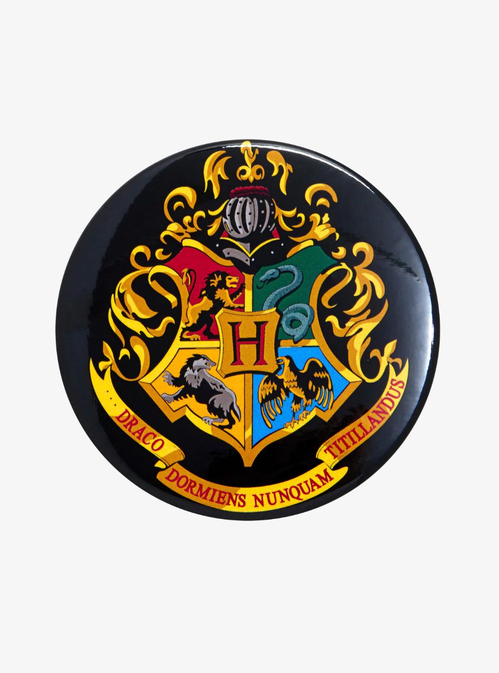 Harry Potter Hogwarts Crest Button Hogwarts Crest Hogwarts Harry Potter Hogwarts