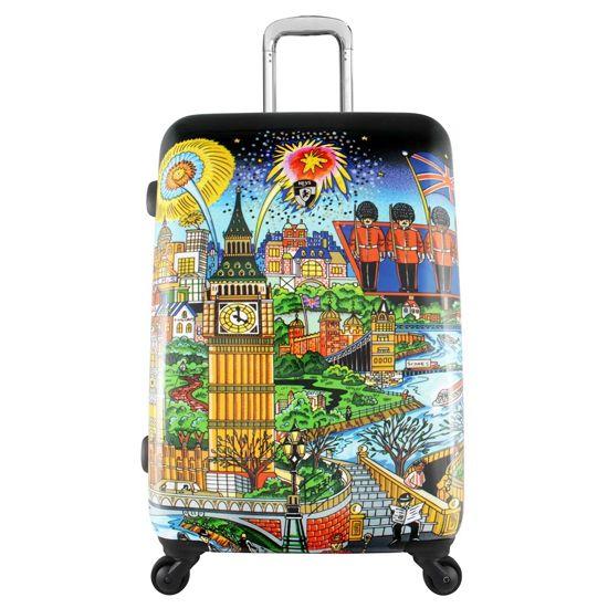 Картинки по запросу красивый чемодан на колесиках (с ...