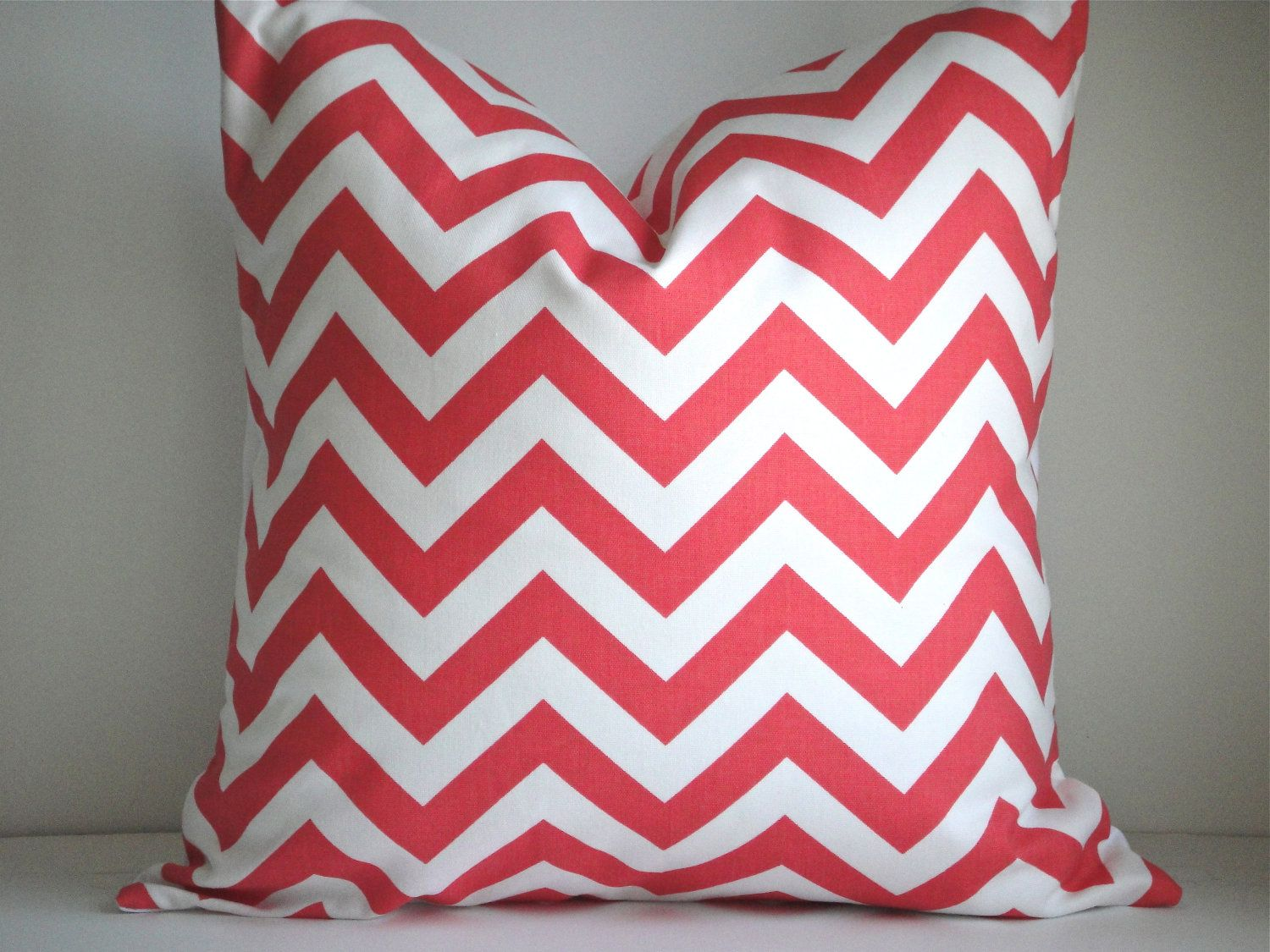 18X18 Designer Pillow In Zig Zag by simplydivinebyjoann on Etsy, $20.00