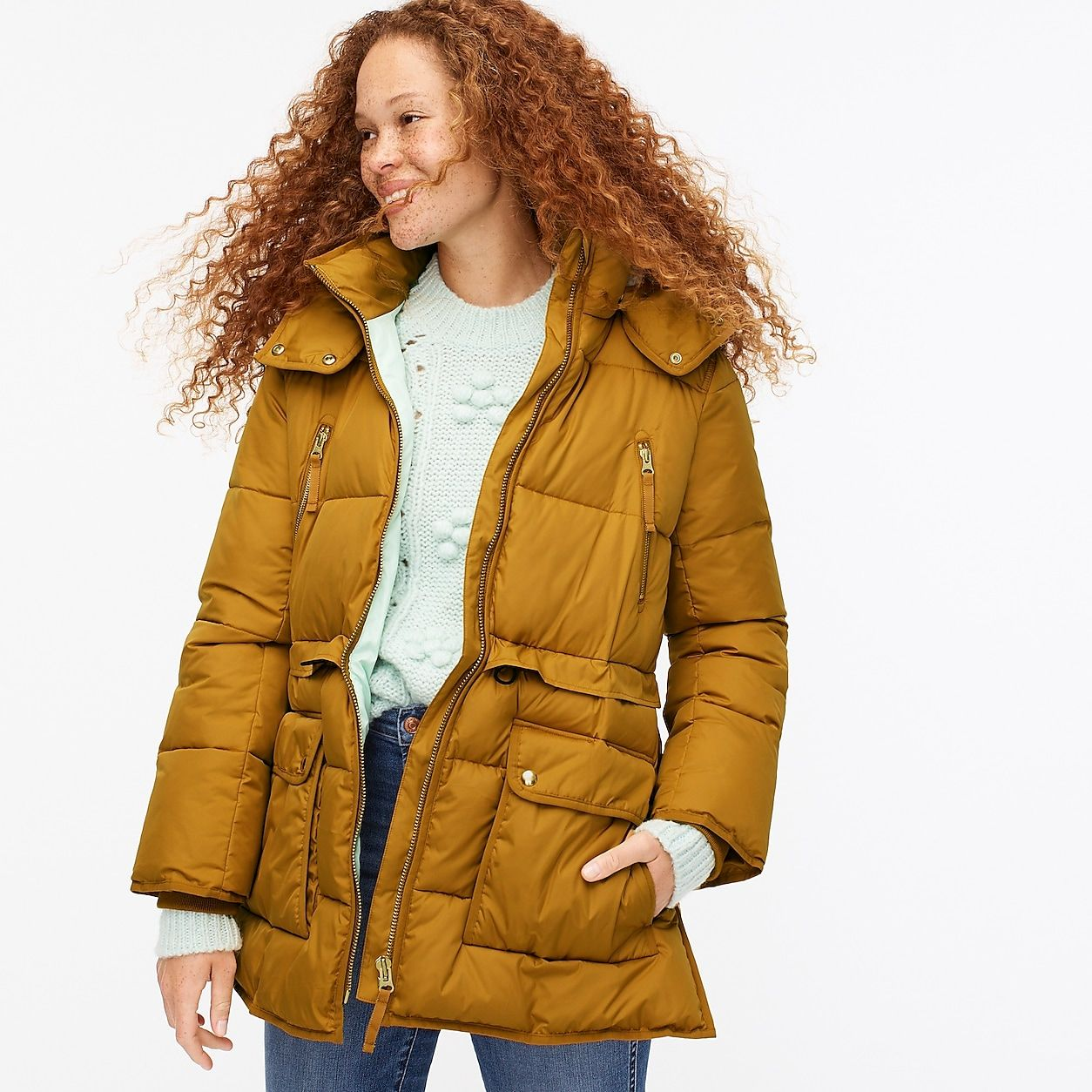 Petite Chateau Puffer Jacket With Primaloft Jackets Outerwear Women Puffer Jackets [ 1254 x 1254 Pixel ]