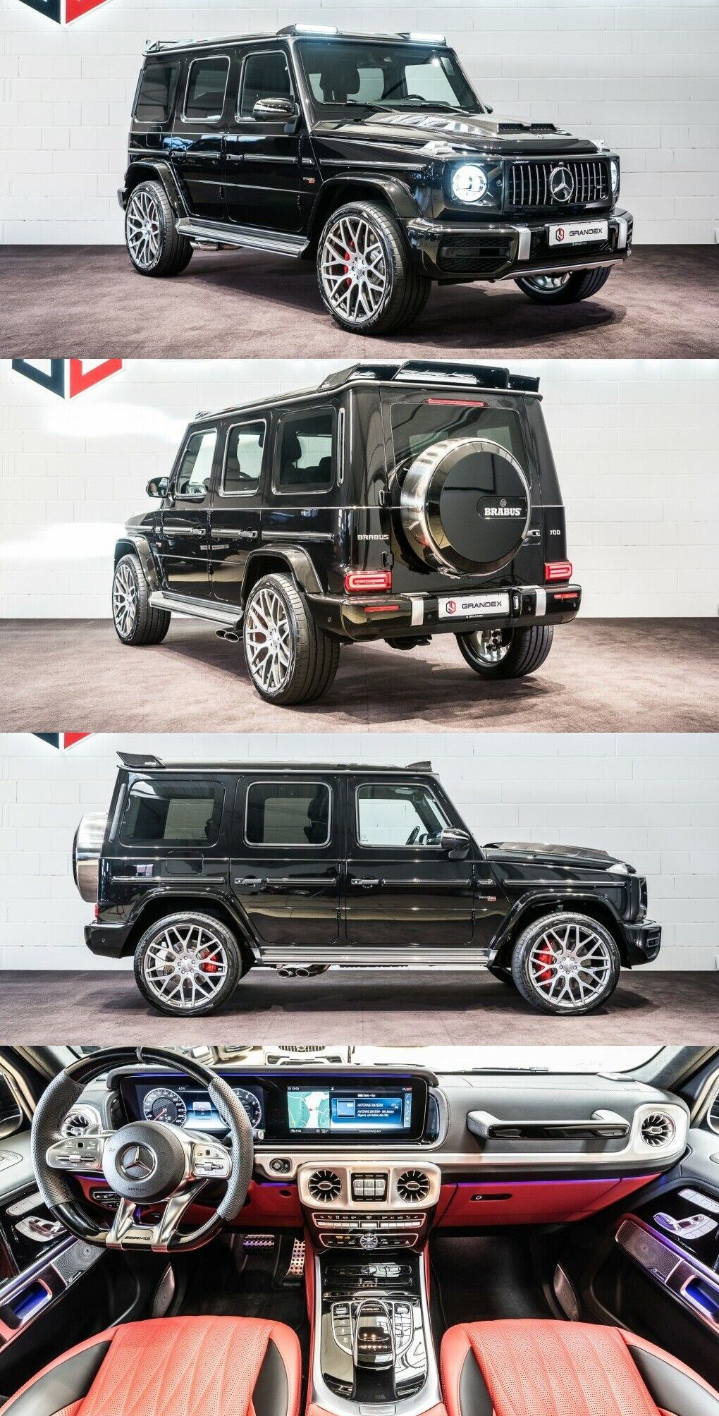 Mercedes Benz G 63 Amg Brabus G800 With Images Mercedes G