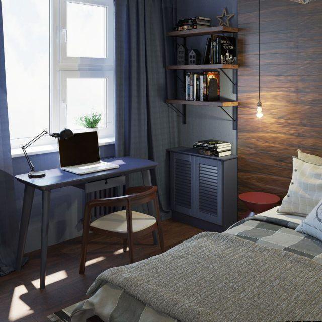 Un projet de chambre pour un étudiant dans deux chambres …