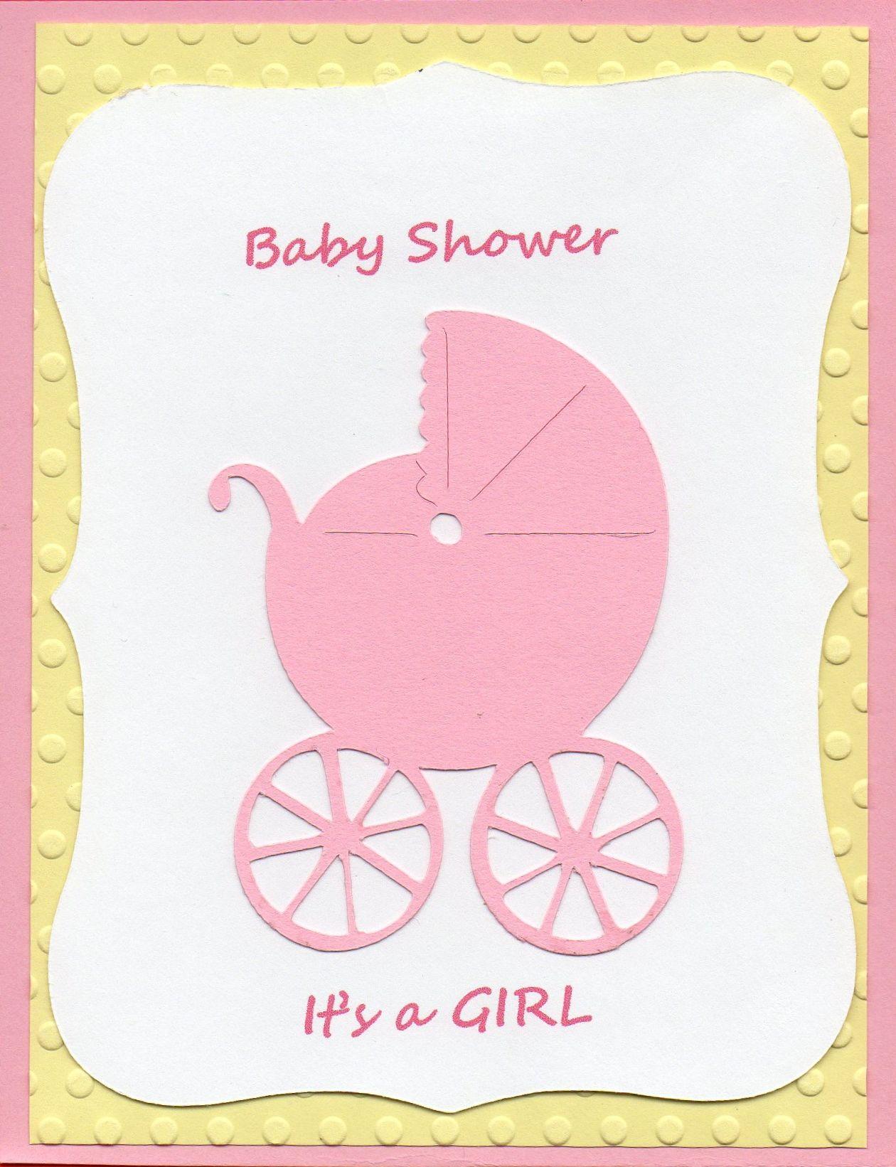 Baby Shower Invite For A Little Girl