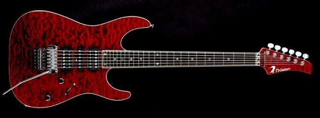 I love the colors on this DST Droptop 24 Quilted  (Black Cherry) Gotoh GE1996T