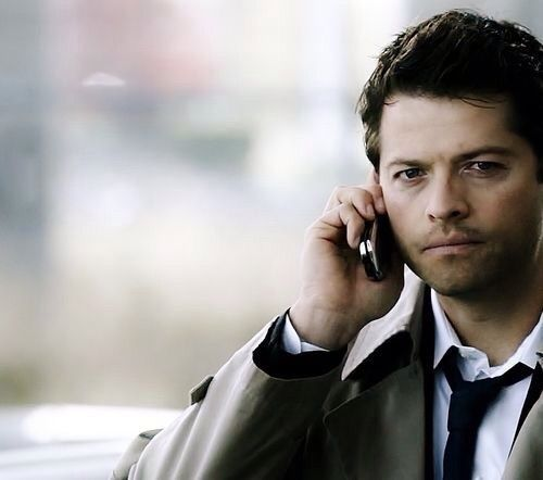 Castiel liked on Polyvore featuring supernatural | Castiel