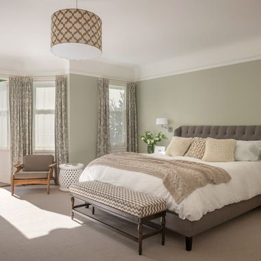 Benjamin Moore Silver Sage 504 Spare Bedroom Color Idea Master Bedroom Colors Relaxing Master Bedroom Traditional Bedroom