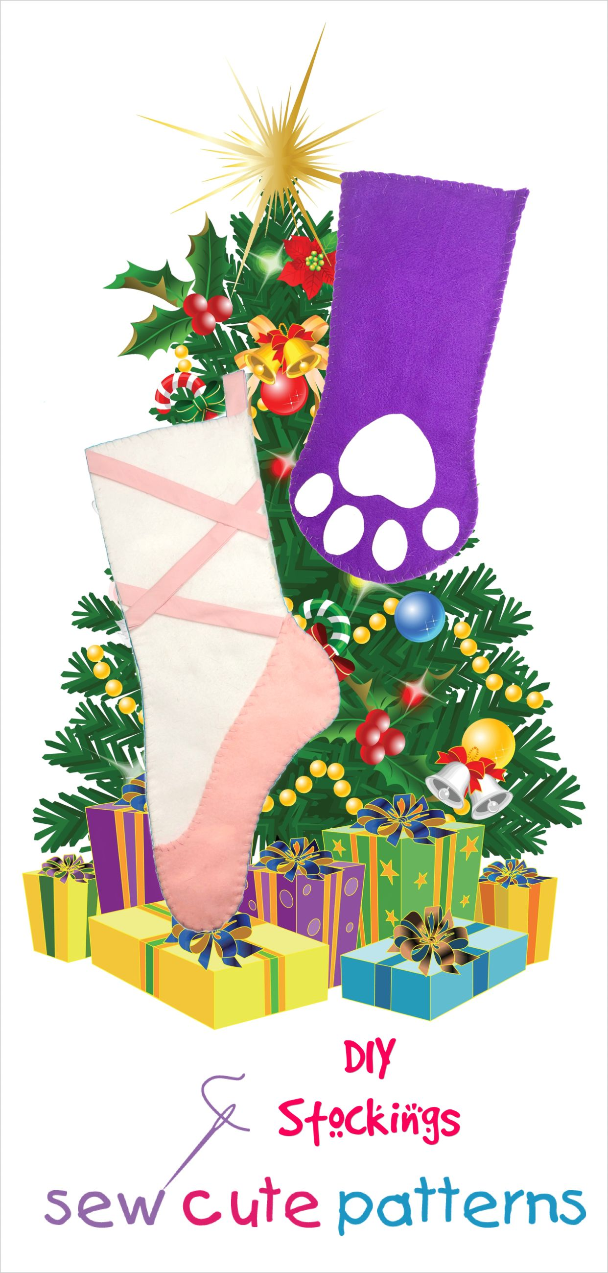 Free Stocking Patterns Stocking pattern, Stocking