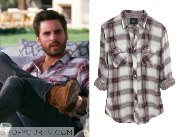 KUWTK: Season 10 Episode 10 Scott's Plaid Shirt