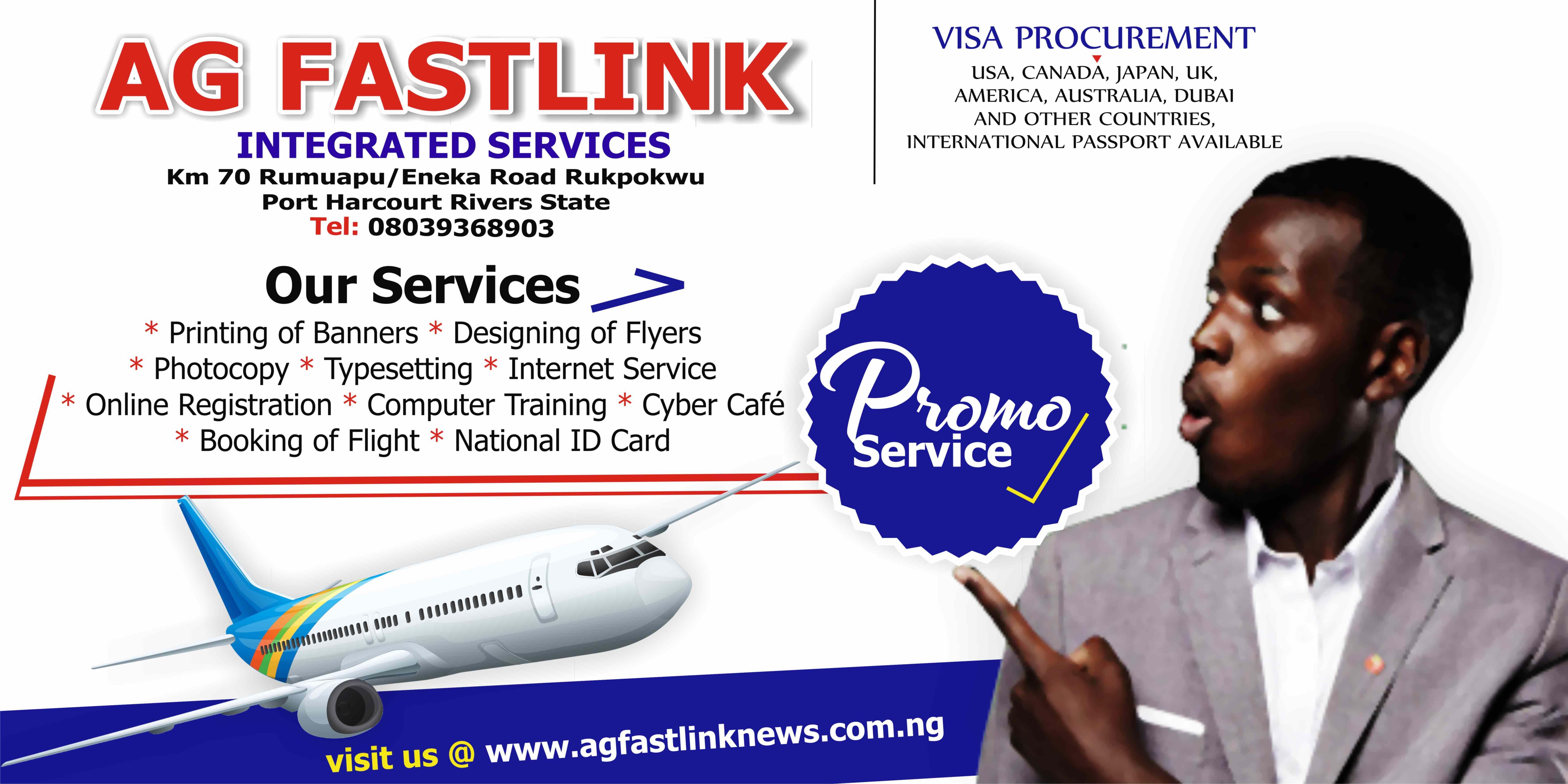 Ag Fastlink Integrated Services Cyber Cafe International Hotels Online Registration