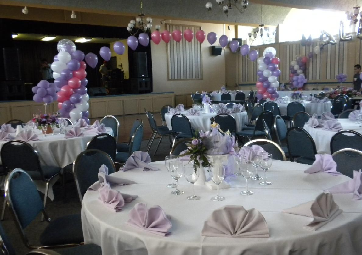 party hall decoration with balloons hall decor 1 hall