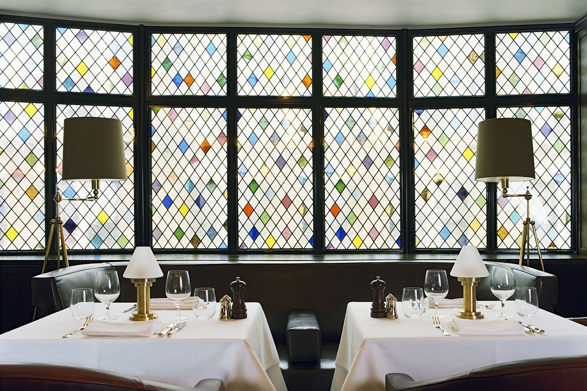 Stained Glass By Martin Brudnizki Design Studio The Club At The Ivy London Interior Design Kitchen Projects