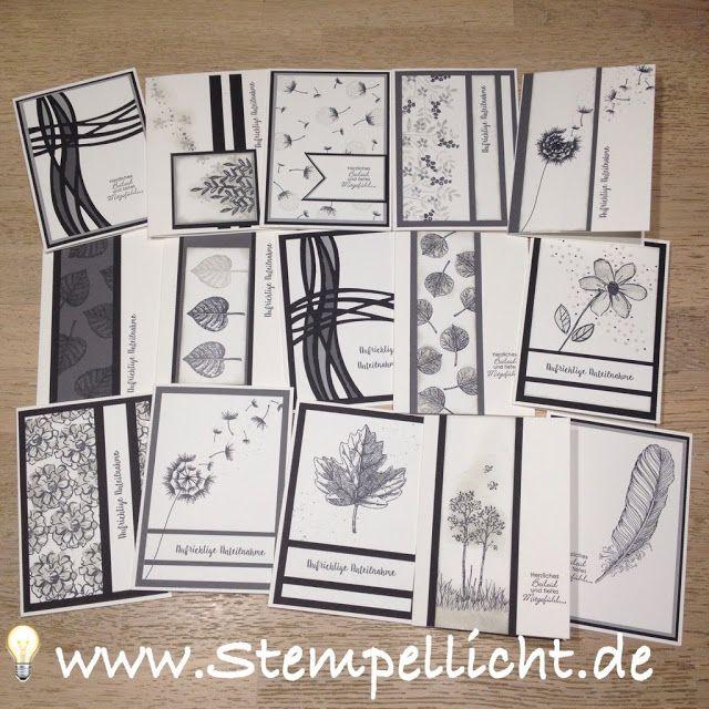 Stempellicht: Trauerkarten mit Stampin´Up! #stampinup!cards
