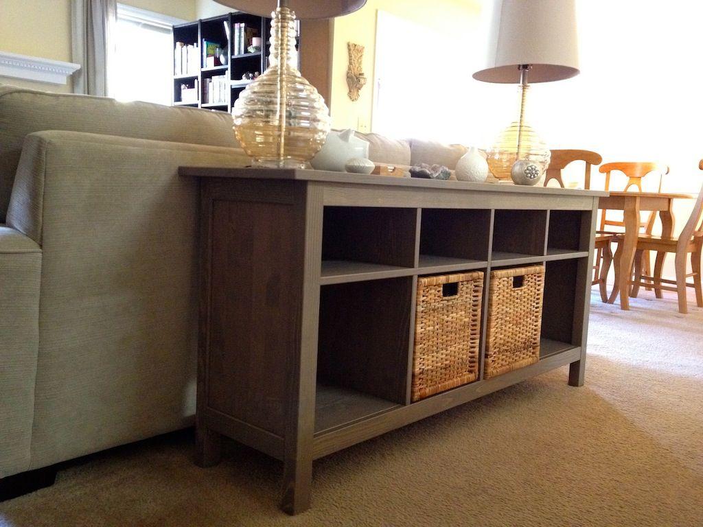 Ikea hemnes sofa table for the home living room pinterest
